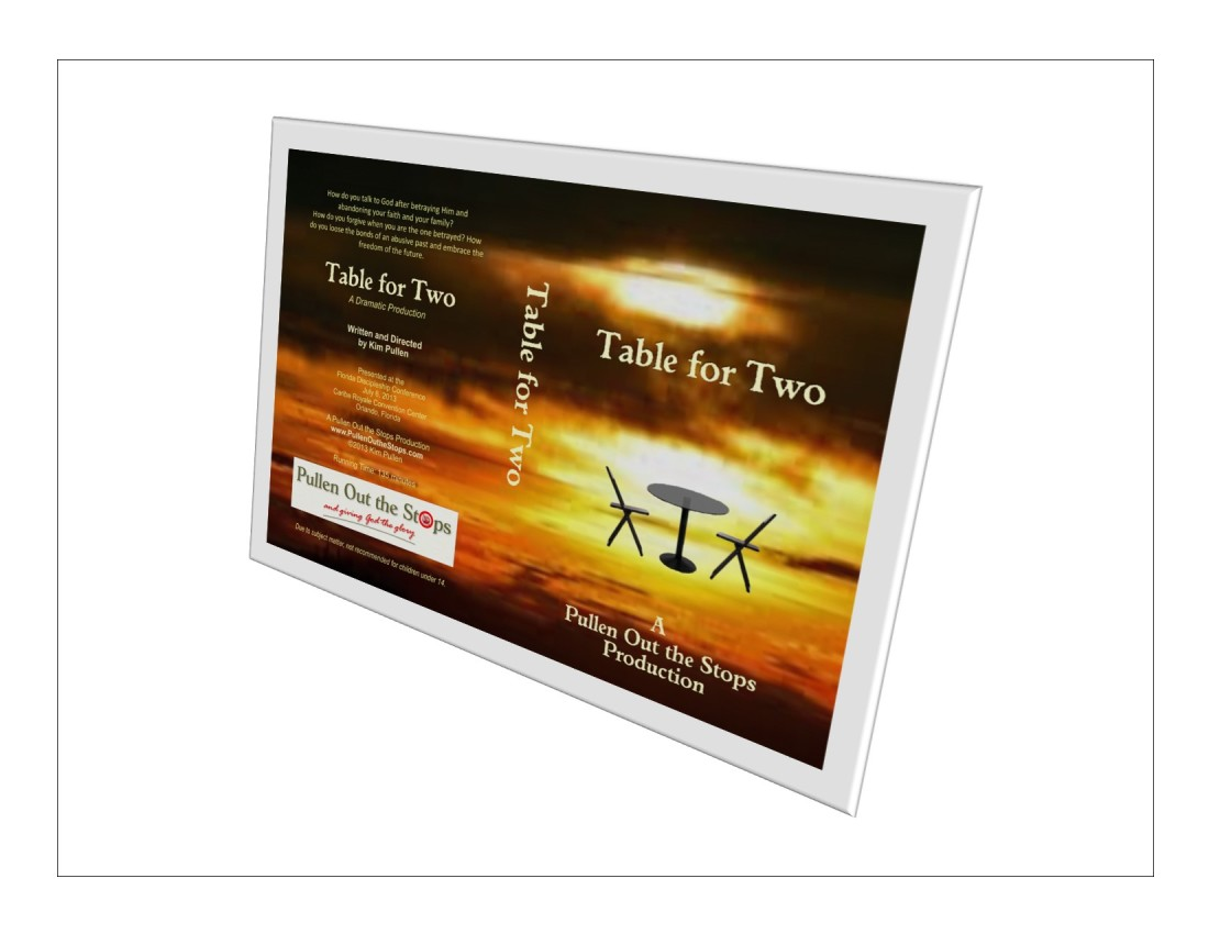 Table for Two, Stage Play on HD-DVD
